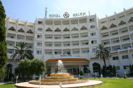 Marhaba Royal Salem : front of hotel
