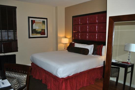 Hotel Belleclaire: La stanza da letto