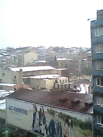 Ramada Plaza Istanbul City Center: View from room