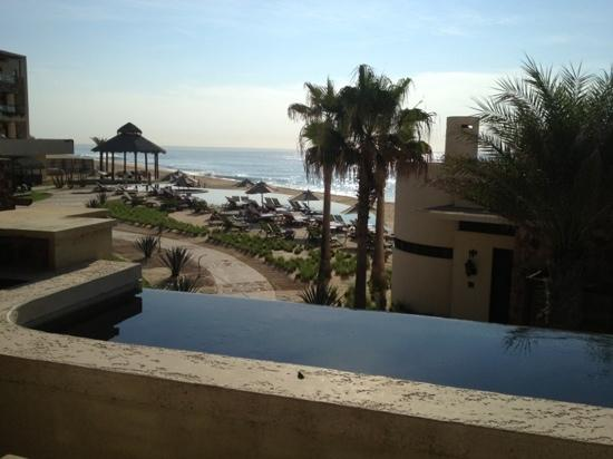 The Resort at Pedregal: our own private plunge pool overlooking the ocean