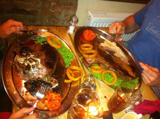 Dark Horse Inn: Half devoured!