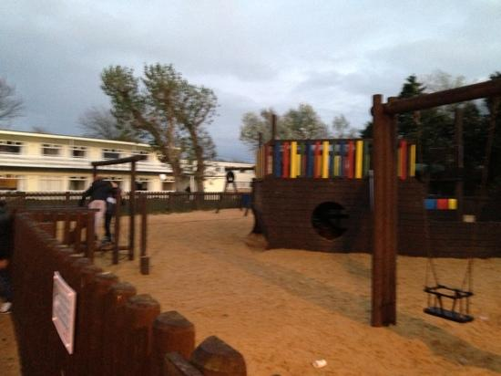 Pontin's Camber Sands Centre: Outside play area.