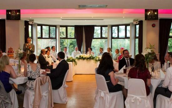 Westport Woods Hotel: Wedding reception