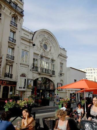 Val-de-Marne, France : The Royal Palace cinema in Nogent-sur-Marne