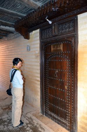 Riad Zolah: riad front door