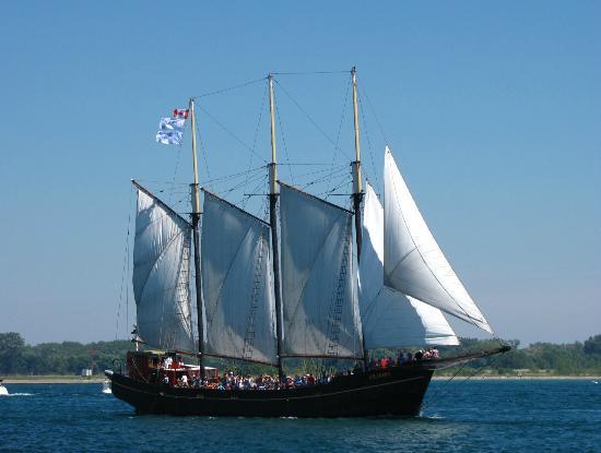Tallship Cruises : Under Full Sail