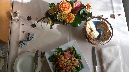 Stellambiente: Liebevoll gedeckter Tisch