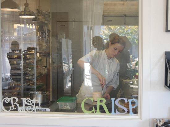 Crisp Bake Shop: Pastry chef
