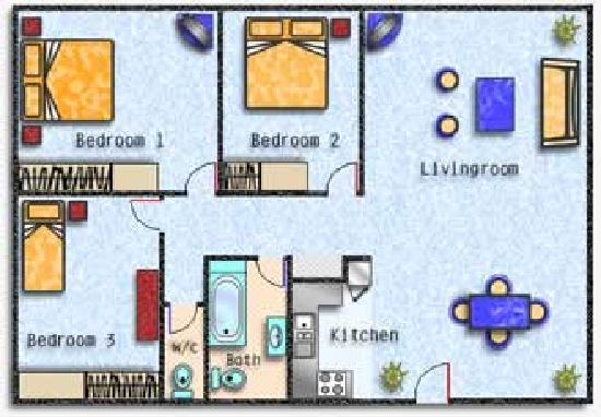 apartment 3 bedroom. carlingford serviced apartments. 3 reviews apartment bedroom e