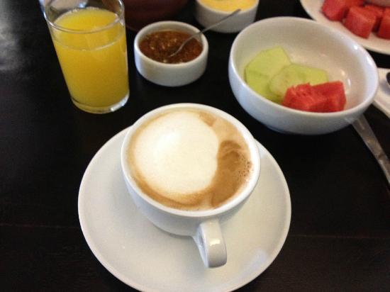 El Albergue Ollantaytambo: cappuccino