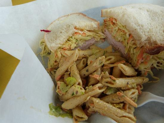 The Rachel Sandwich - Picture of Undercover Eggplant Company, Oneonta ...