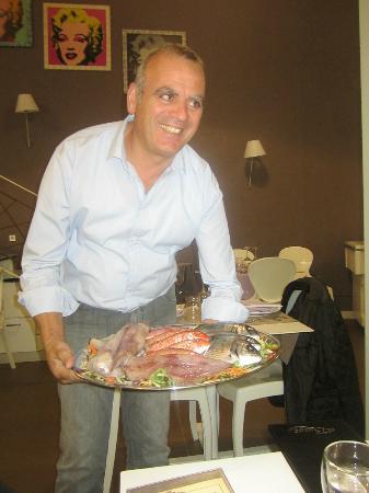 Ristorante Al Burgo: Our fantastic and very friendly host!