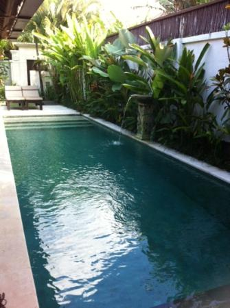 Maya Sayang: our private pool