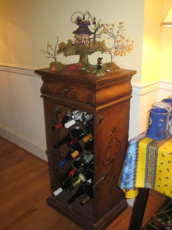 Scarborough Fair Bed & Breakfast: wine