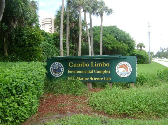 Boca Raton, FL: Gumbo Limbo - enterance