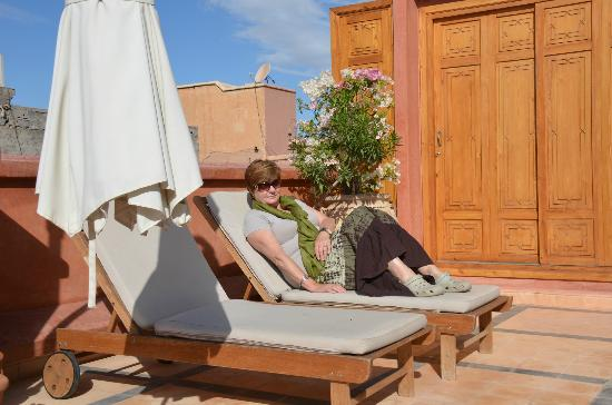 Riad l'Etoile d'Orient: Sundeck on roof