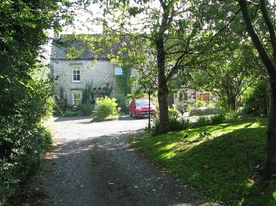 Welton Old Farmhouse: the drive way