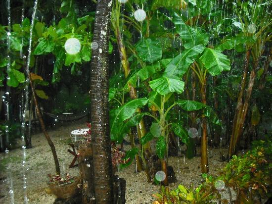 Hotel Brasilito: mas lluvia en el hotel