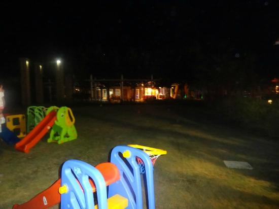 Barut Lara: Some of the todler's play areas