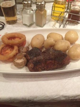 JK's Steakhouse: My fillet. Yummy.