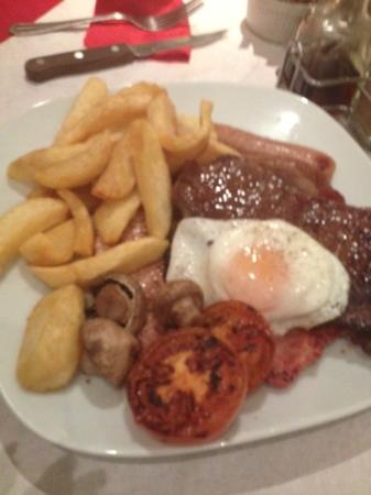JK's Steakhouse: The mixed grill