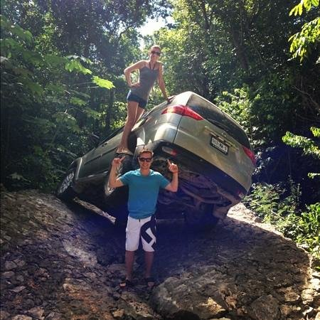 Riviera Maya, Mexico: The 4x4 was amazing!