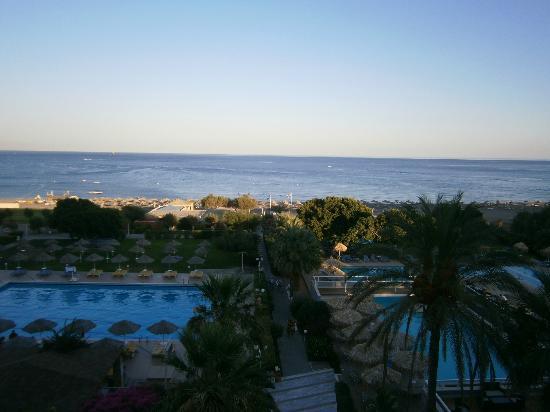 Blue Sea Beach Resort: La nostra camera vista mare