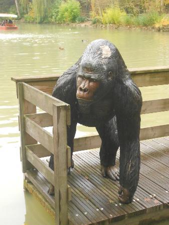 Nigloland : Le singe
