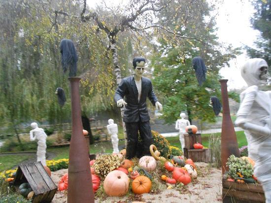 Nigloland : Décor du parc pour Hallowen