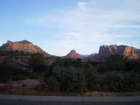 Las Posadas of Sedona: view from room