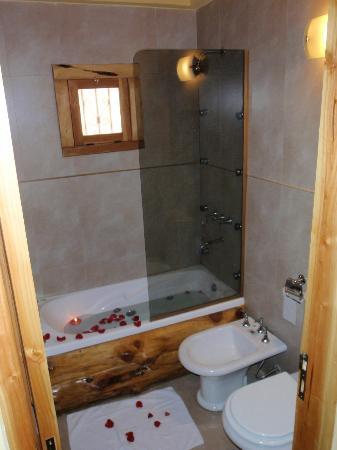 ba o con yacuzzi y ducha escocesa fotograf a de posadas On banos con ducha escocesa