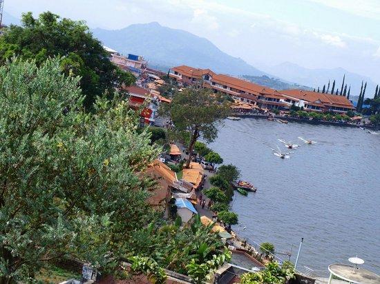 Magetan Indonesia  city pictures gallery : Magetan, Indonesia: Pemandangan dari teras kamar