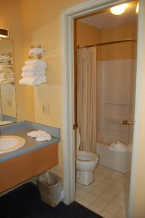Victorian Inn: Clean Bath and sink