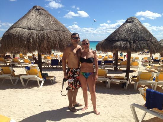 Iberostar Quetzal Playacar: en la playa del hotel