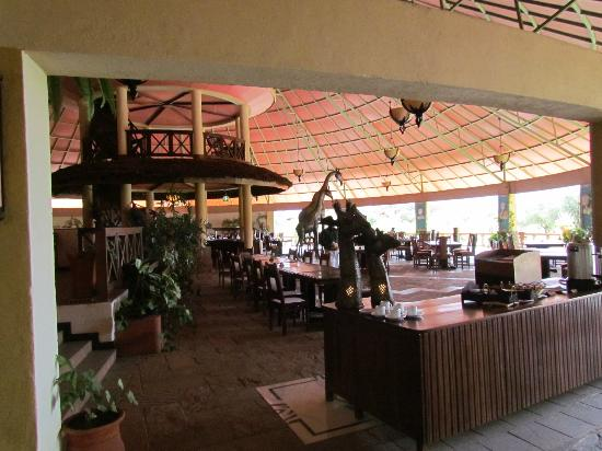 Kilima Safari Camp: ristorante