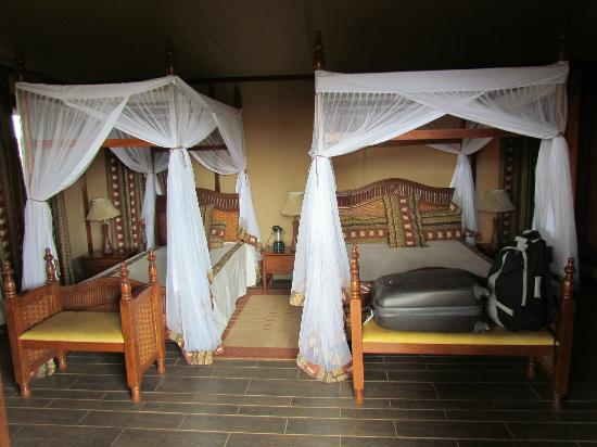 Kilima Safari Camp: letto