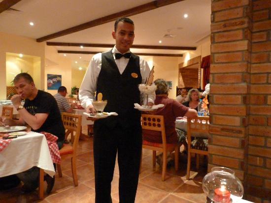 ahmed the waiter picture of zigolini restaurant luxor tripadvisor
