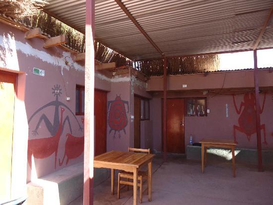 Hostal El Rincon San Pedrino: Patio Interior de la hostal