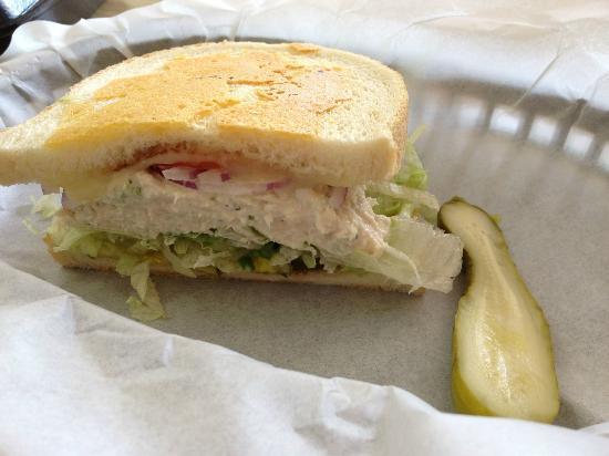 The Lunch Box : Tuna Melt! DELICIOUS