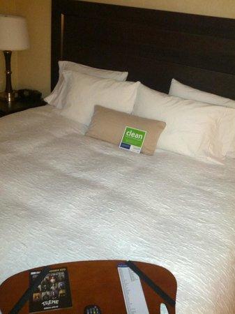 Hampton Inn Miami: The typical Hampton well made bed