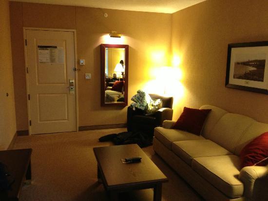 Sheraton Duluth Hotel: Sitting Room