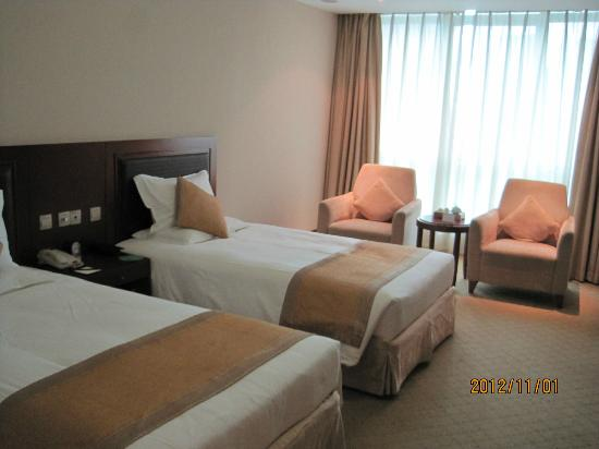 Ambassador Hotel: 十分な広さのに客室