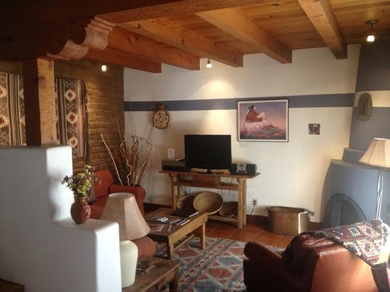 Las Brisas de Santa Fe: Living room of Unit 19