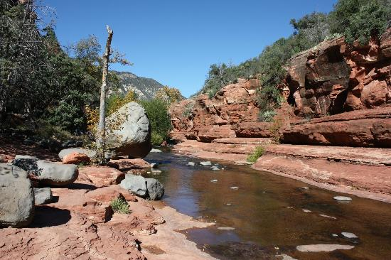 Sedona Real Inn and Suites: Slide Rock