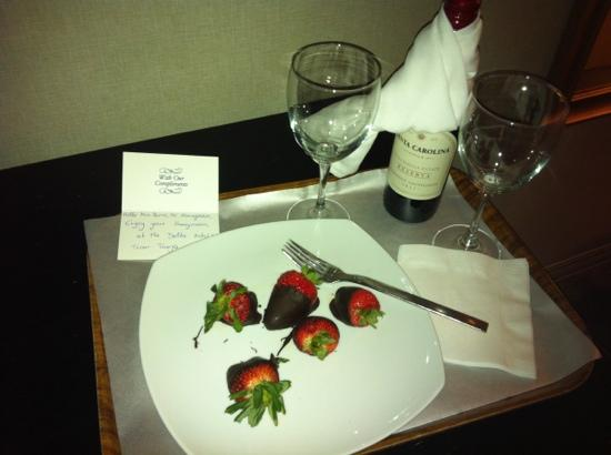 Chelsea Hotel, Toronto: so thoughtful!