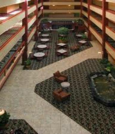 Embassy Suites by Hilton Williamsburg: Main Atrium From 3rd Floor