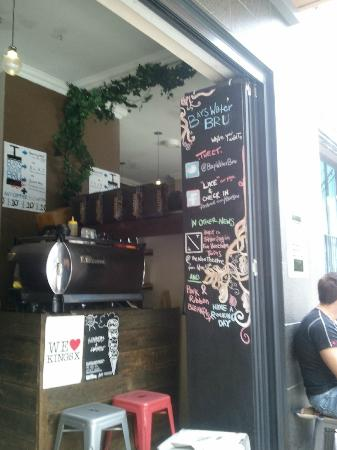 The Bayswater Sydney: The next door cafe makes a brilliant bacon/egg roll