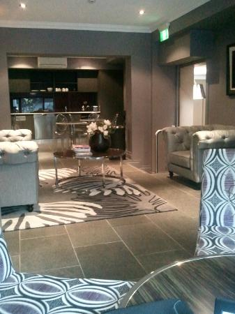 The Bayswater Sydney: The communal lounge area