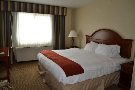 Holiday Inn Express Hotel & Suites Fairbanks : bed