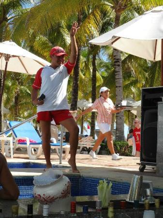 Hotel Riu Palace Riviera Maya: Ricky Bobby